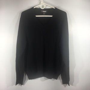 Brooks Brothers Merino wool-blend V-neck Sweater
